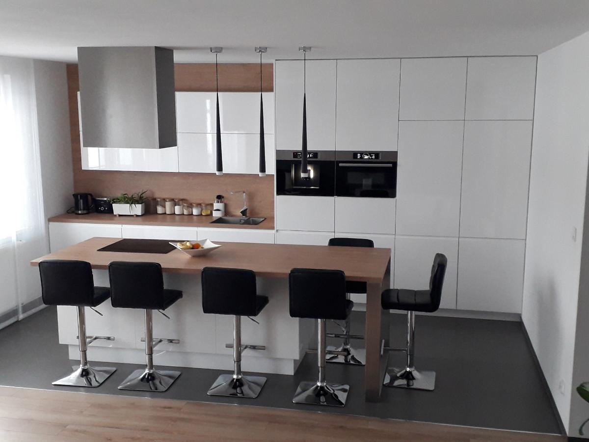 Realizacje kuchnie nowoczesne 22 Meble kuchenne na wymiar