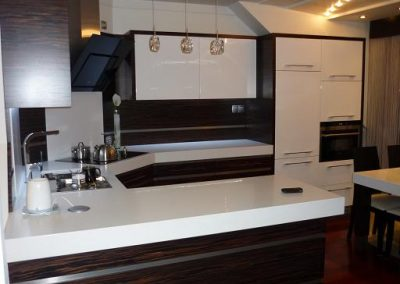 Realizacje kuchnie nowoczesne 3 400x284 Meble kuchenne na wymiar