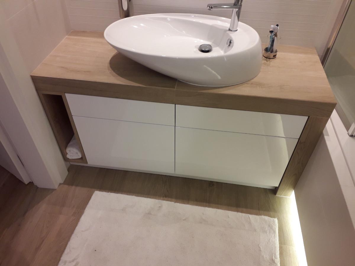 Realizacje szafki lazienkowe 1 Szafki łazienkowe