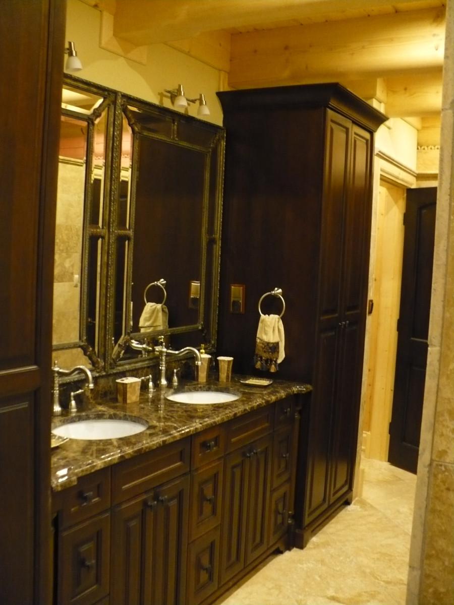 Realizacje szafki lazienkowe 3 Szafki łazienkowe