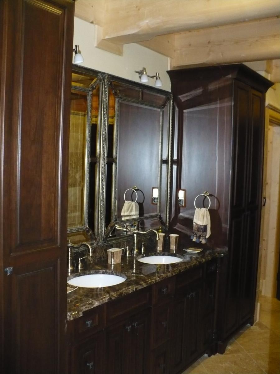 Realizacje szafki lazienkowe 4 Szafki łazienkowe