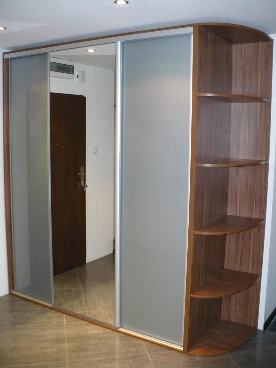 Realizacje szafy 5 Szafy przesuwane i otwierane