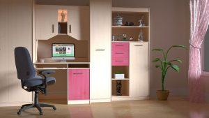meble na zamowienie do pokoju nastolatka inspiracje 300x169 5 pomysłów na modne i praktyczne meble na wymiar do pokoju młodzieżowego