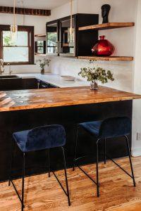 czarne meble kuchenne na wymiar 200x300 Ciemne meble kuchenne na wymiar – top 4 aranżacje
